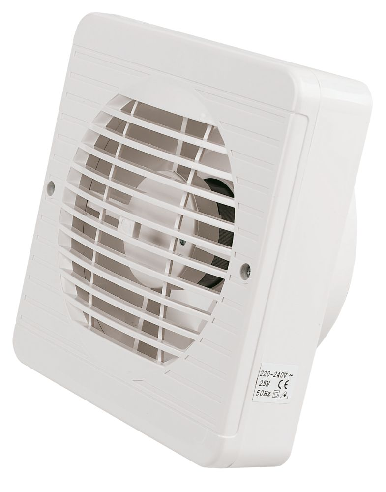 Image of Manrose TF150BP 25W Axial Pullcord Kitchen Fan