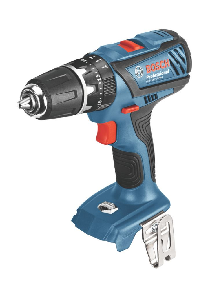 Image of Bosch GSB 18-2-Li Plus 18V Cordless Combi Drill - Bare