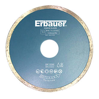 Image of Erbauer Tile Diamond Tile Blade 105 x 22.23mm