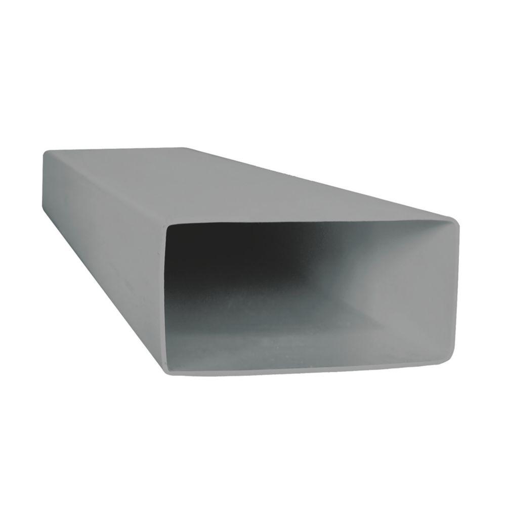 Image of Manrose Rectangular Flat Channel White 100mm