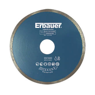 Image of Erbauer Tile Diamond Tile Blade 115 x 22.23mm