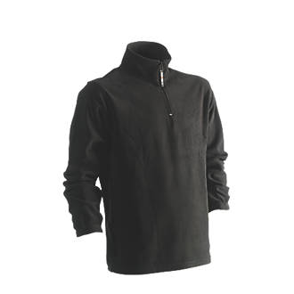 "Image of Herock Antalis Fleece Sweatshirt Black Medium 44"" Chest"