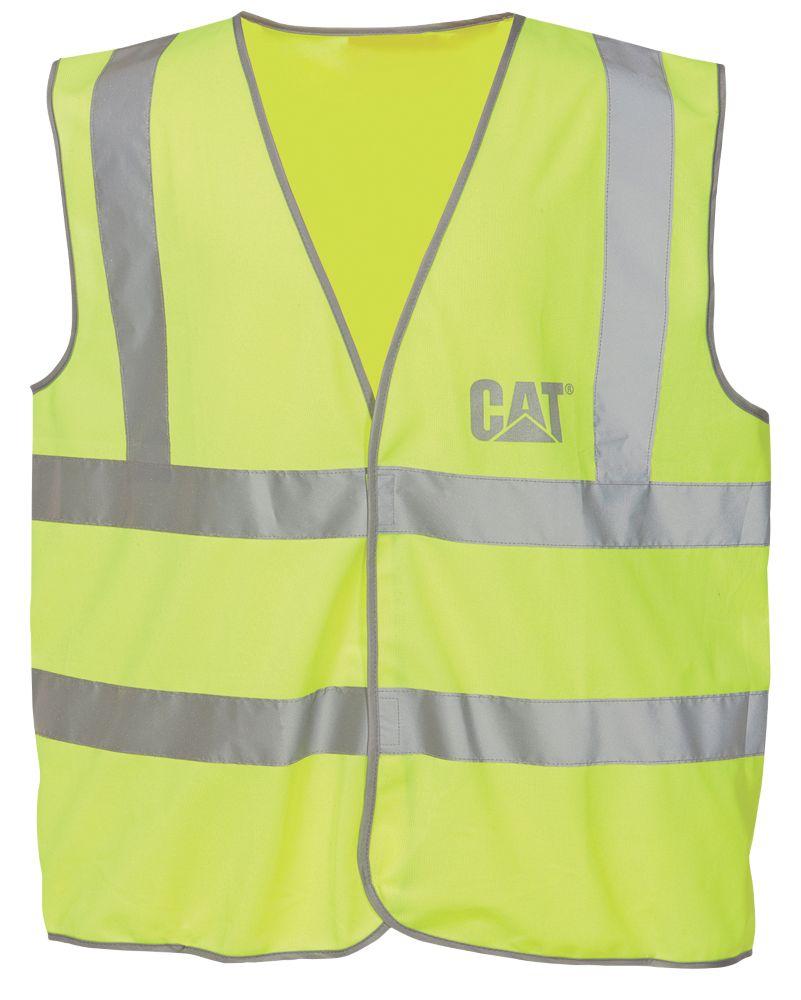 Image of CAT C1322024 Hi Vis Vest Yellow L
