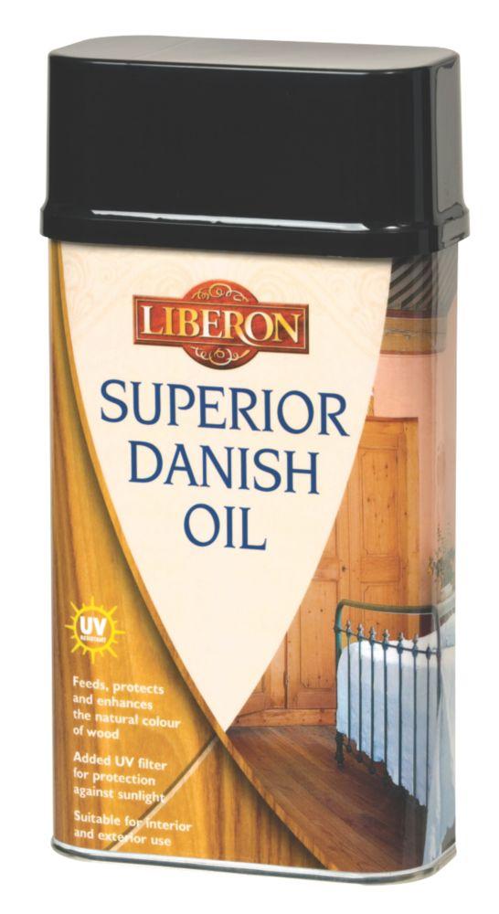 Image of Liberon Superior Danish Oil Clear 1Ltr