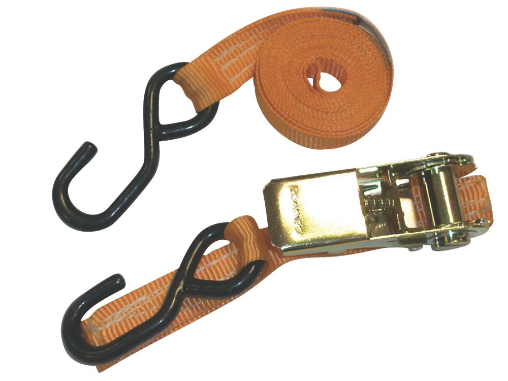 Image of Van Guard Ratchet Tie-Down Strap & Hook 2.5m x 25mm