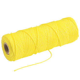 Image of Tayler Tools High Visibility Builders Line Yellow 105m