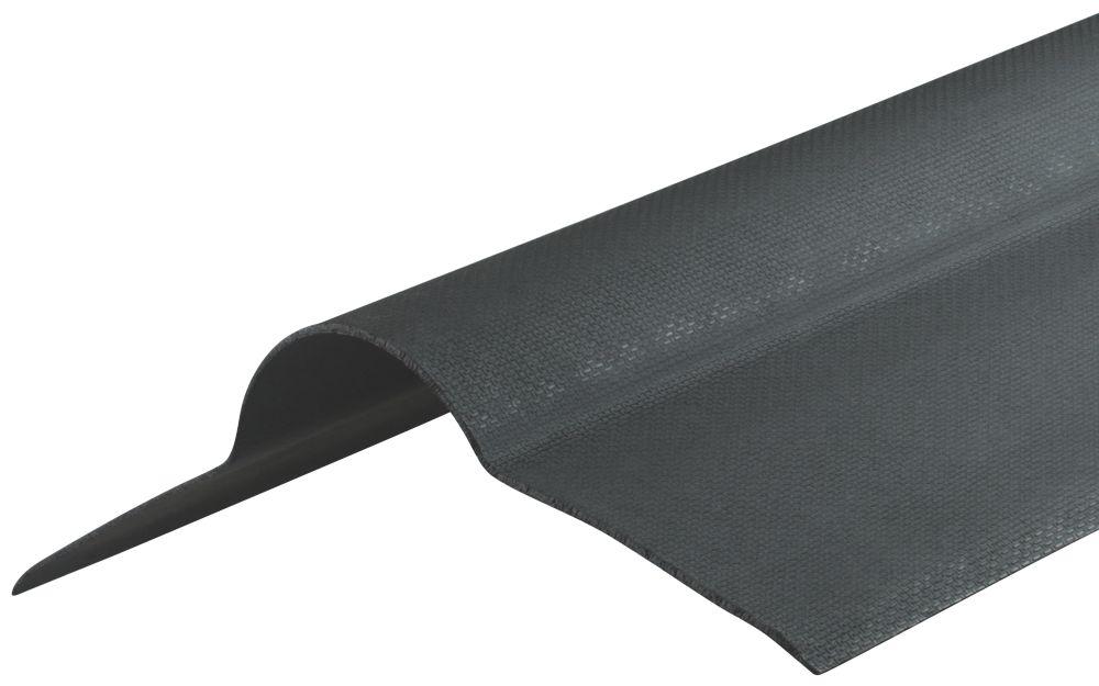 Image of Corrapol-BT Corrugated Bitumen Ridge Black 80 x 20mm