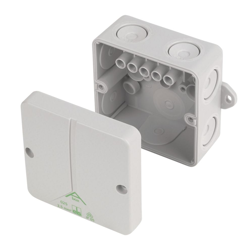 Image of CED IP65 Adaptable Box 80 x 80 x 52mm