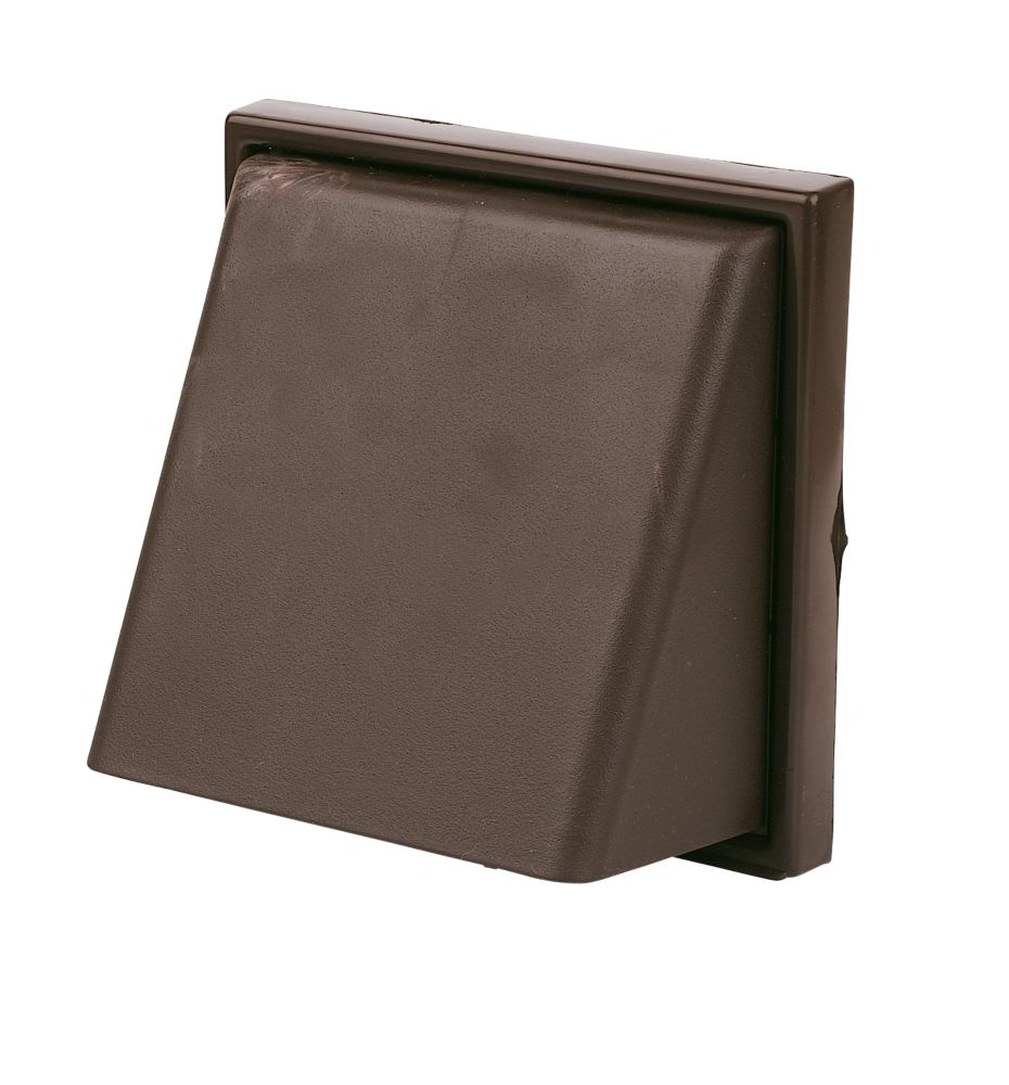 Image of Manrose Cowl Vent Brown 140 x 140mm