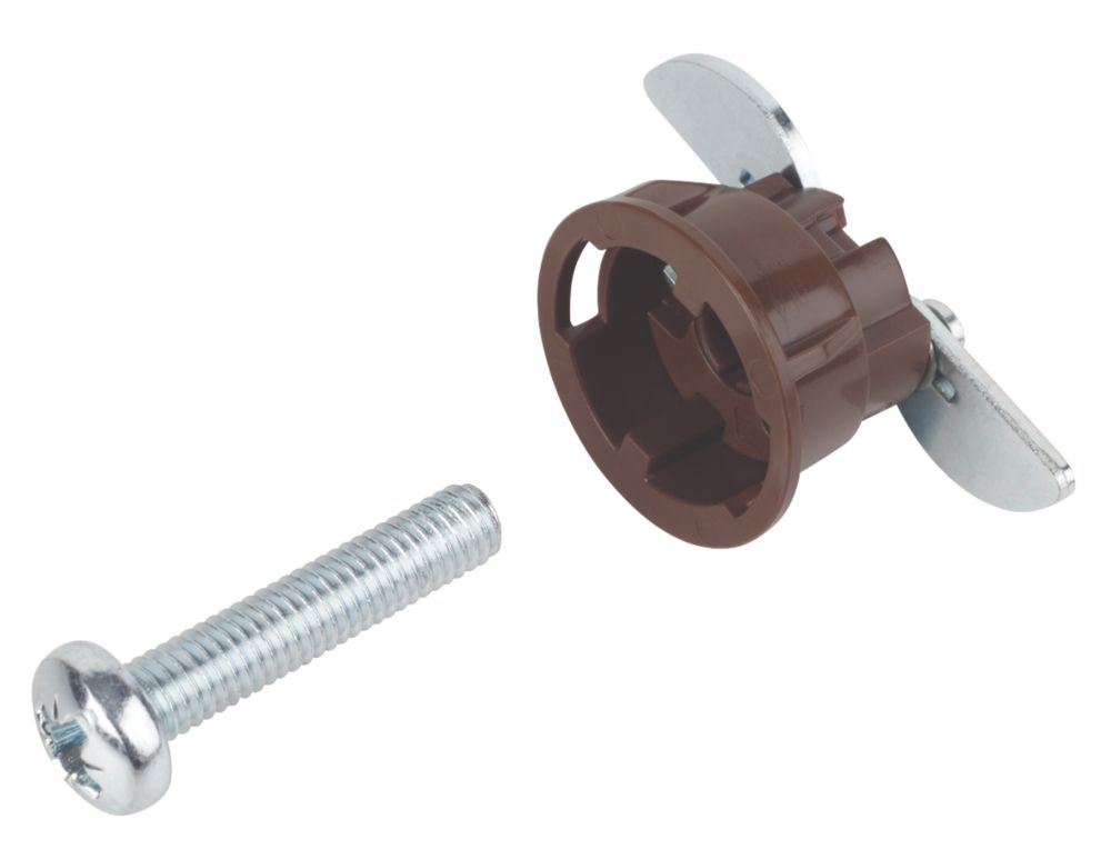 Image of GripIt Brown Plasterboard Fixings 20 x 20mm 8 Pack