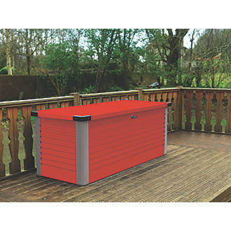 "Image of Trimetals Patio Box 4' 6 x 2' 6 x 2' 6"" Red"