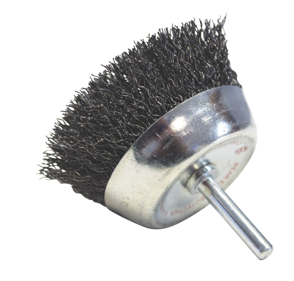 Image of Norton Expert Crimped Wire Cup Brush 50mm