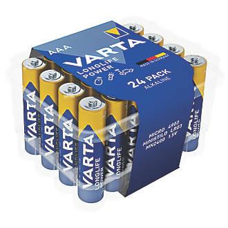 Image of Varta AAA Batteries 24 Pack