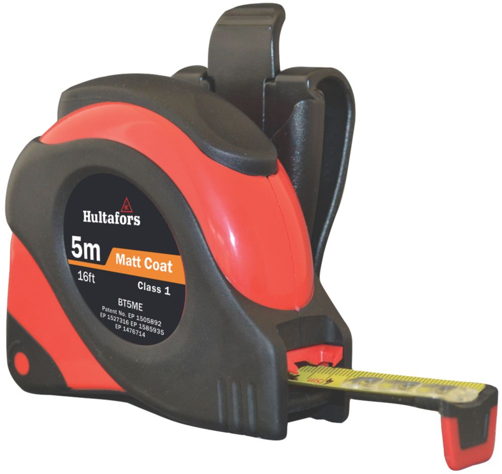 Image of Fisco Big T Tape Measure 5m x 19mm
