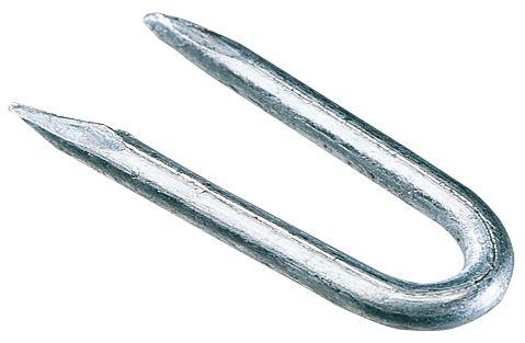 Image of Easyfix Galvanised Staples Galvanised Corrosion-Resistant 2.65 x 25mm 0.5kg Pack