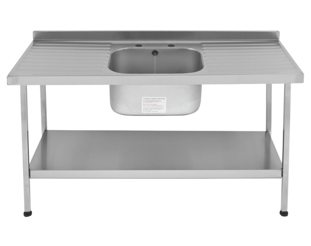 Image of Franke Mini Catering Sink Stainless Steel 1-Bowl 1500 x 600mm