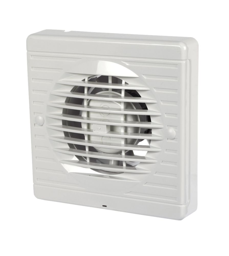 Bathroom Extractor Fan manrose xf100t 20w axial bathroom fan | bathroom extractor fans