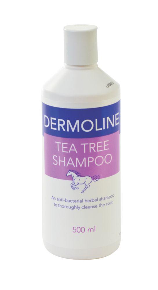 Image of Battles Dermoline Tea Tree Horse Shampoo 500ml