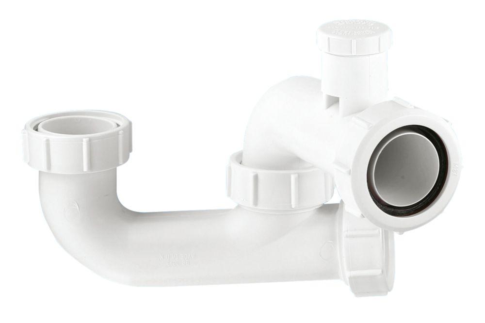 "Image of McAlpine 1½"" x 50mm Anti-Siphon Bath P Trap"
