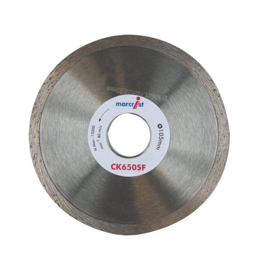 Image of Marcrist CK650SF Diamond Tile Blade 105 x 22.2mm