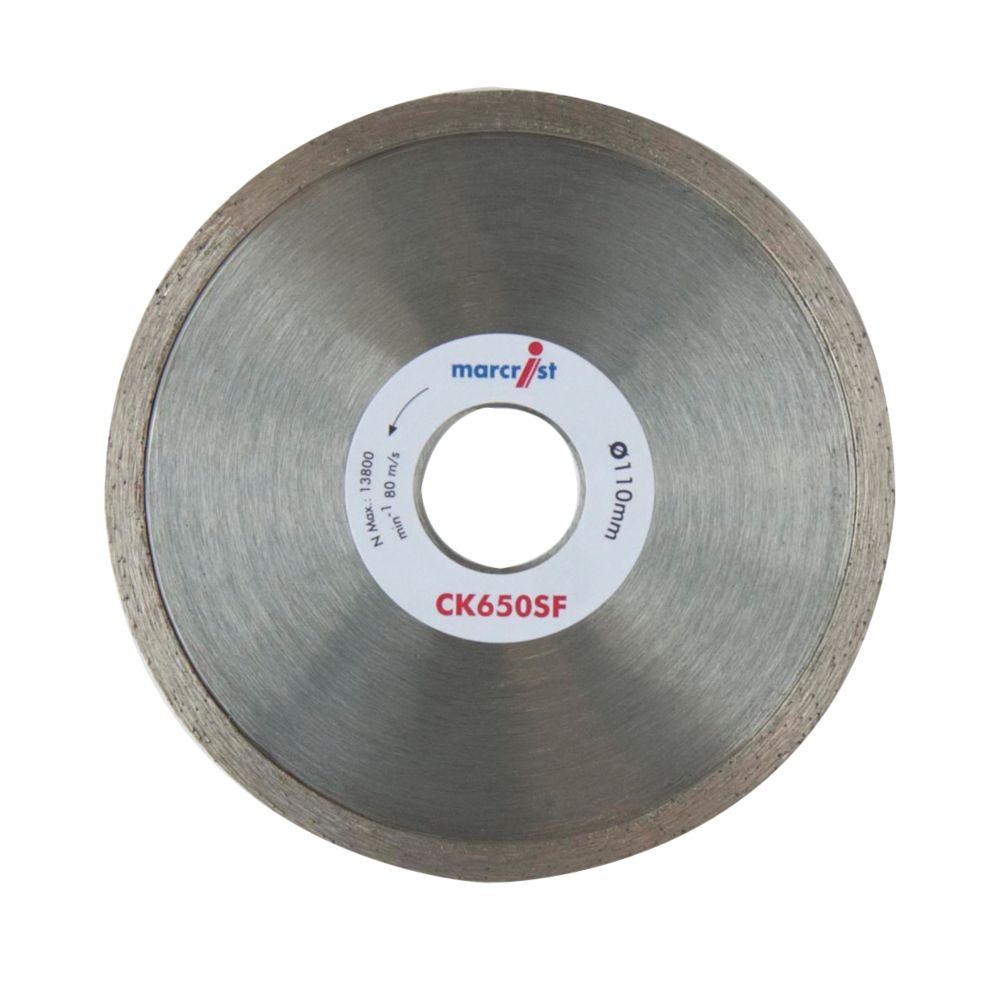 Image of Marcrist CK650SF Diamond Tile Blade 110 x 22.2mm