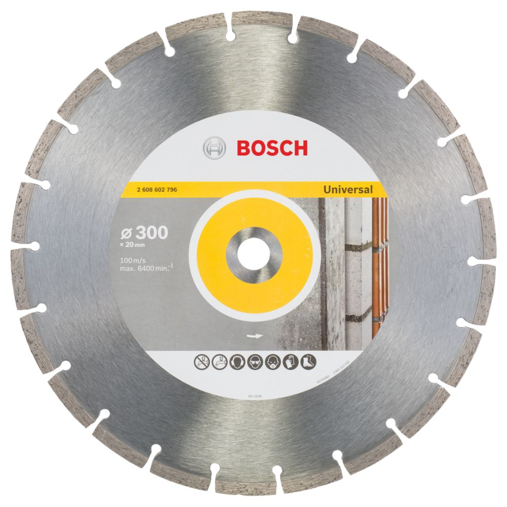 Image of Bosch Universal Segmented Diamond Blade 300 x 20mm