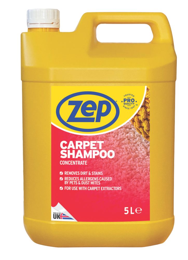 Image of Zep Commercial Carpet Shampoo Concentrate 5Ltr