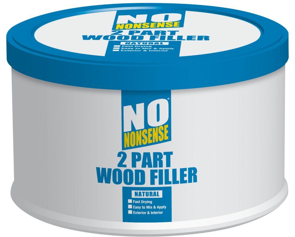 Image of No Nonsense 2-Part Wood Filler Natural 500g