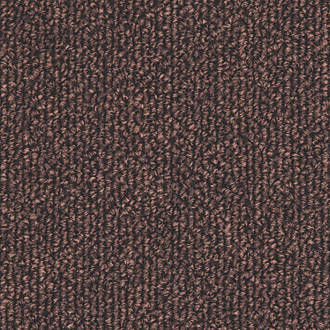 Image of Distinctive Flooring Trident Carpet Tiles Dark Brown 20 Pcs