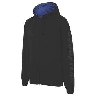 """Image of Goodyear Graphic Hooded Sweater Black Large 42"""" Chest"""
