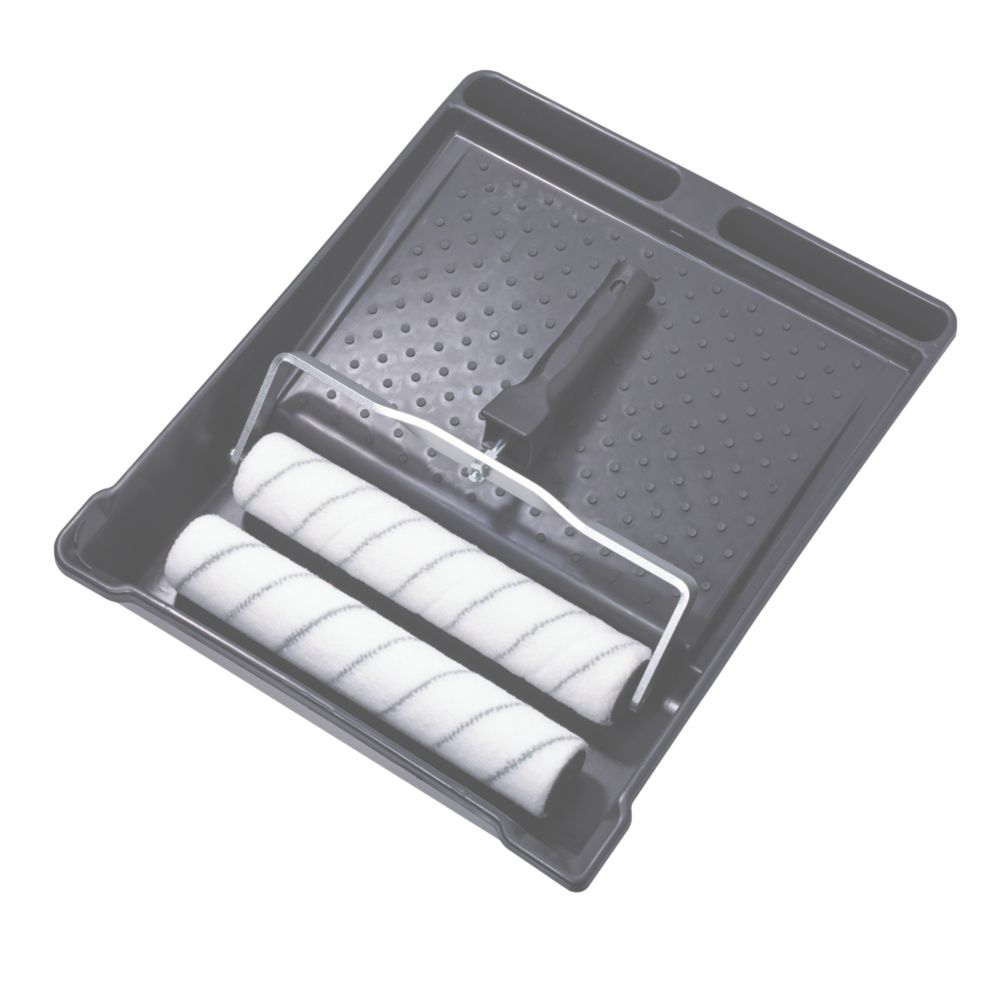 "Image of Harris Contractor 12"" Woven Roller & Tray Set 4 Pieces"