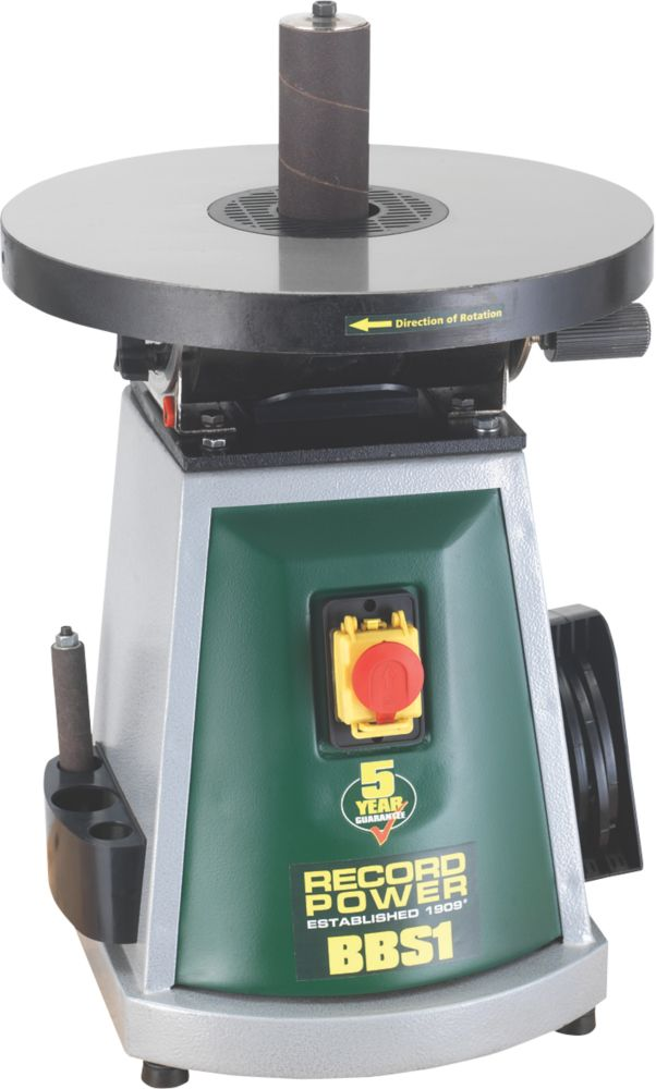 Image of Record Power BBS1 Bench-Top Bobbin Sander 240V