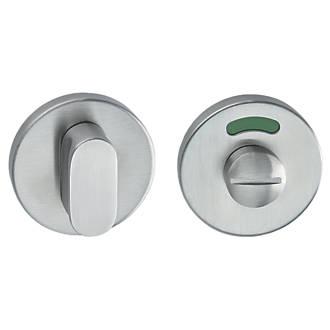 Image of Hafele Standard WC Thumbturn Set Stainless Steel 53mm