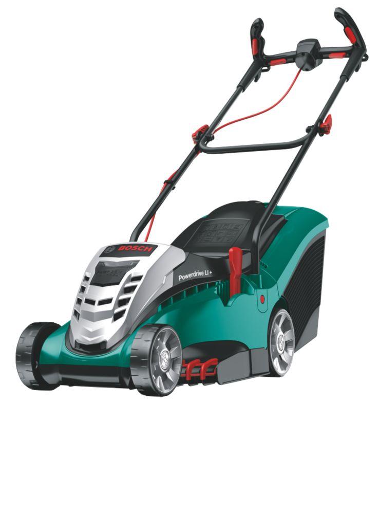 Image of Bosch 37cm Cordless Rotary Lawn Mower 36V 4.0Ah Li-Ion