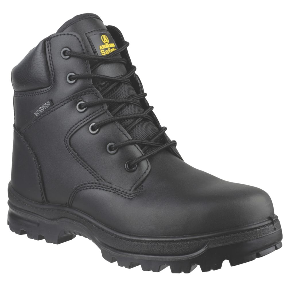 Image of Amblers FS006C Metal Free Safety Boots Black Size 4