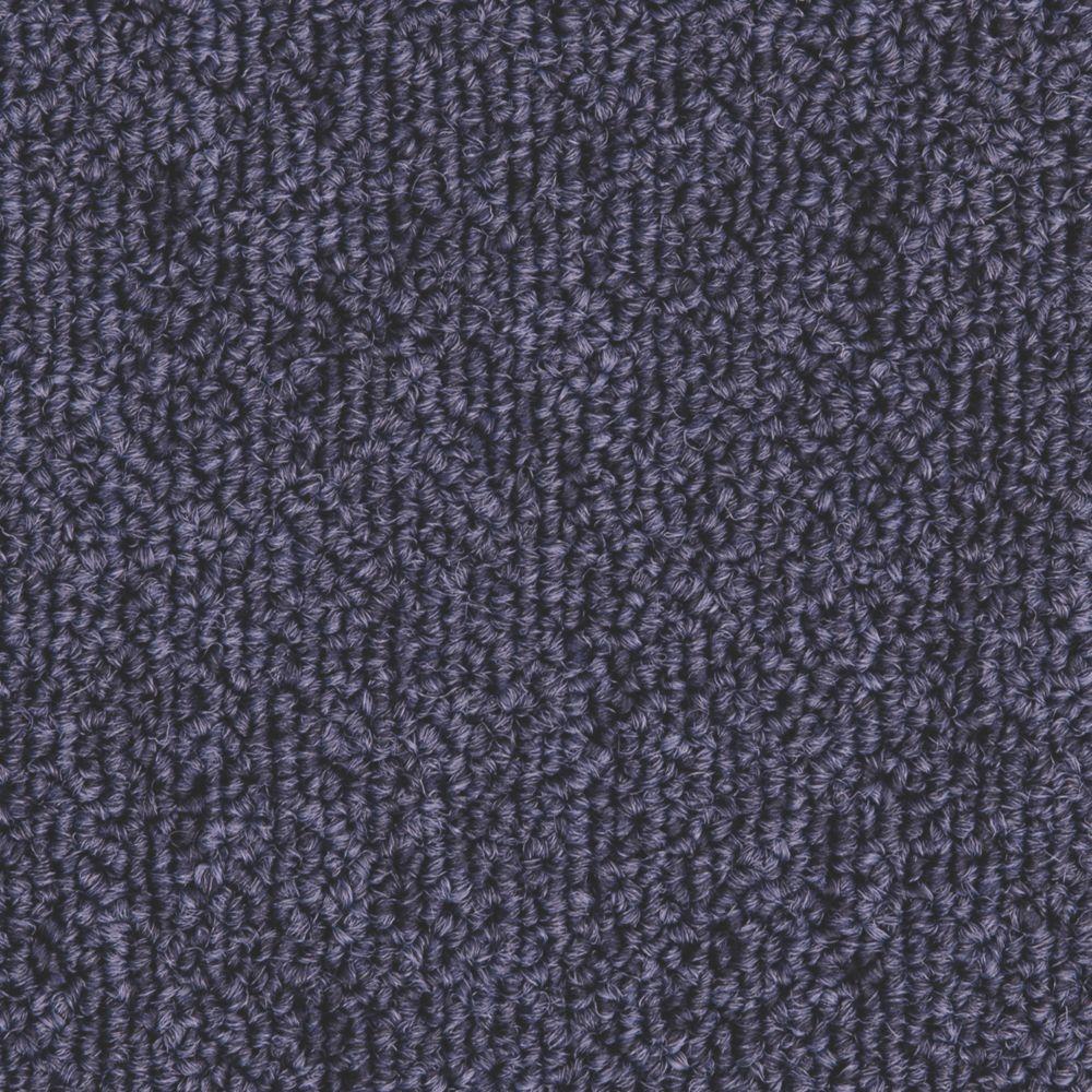 Image of Distinctive Flooring Trident Carpet Tiles Dark Blue 20 Pcs