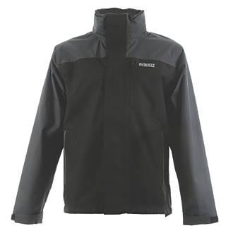 DeWalt Storm Waterproof Jacket Black / Grey Large 42-44