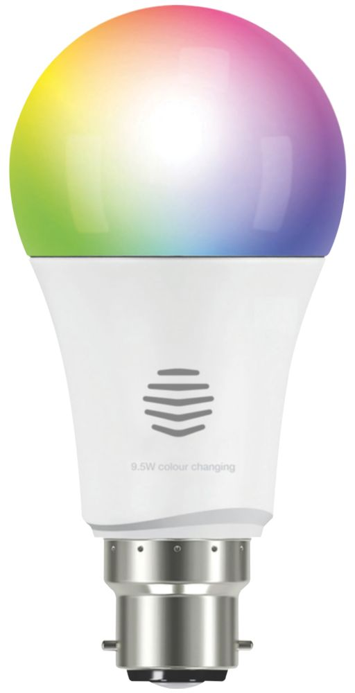 Image of Hive Smart LED GLS BC RGB Colour Changing Bulb Colour-Changing 9W 806Lm