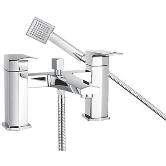 Image of Bristan Elegance Deck-Mounted Bath Shower Mixer Tap
