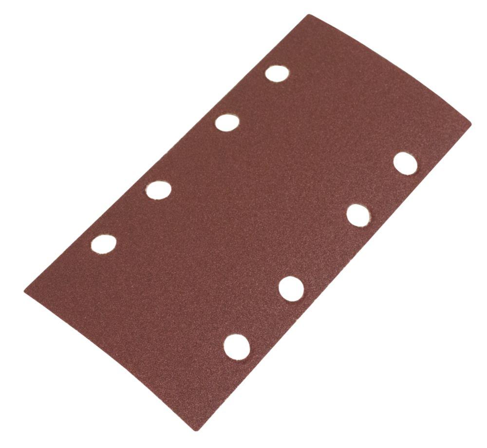 Image of Flexovit ? Sanding Sheets Punched 93 x 185mm 120 Grit 6 Pack