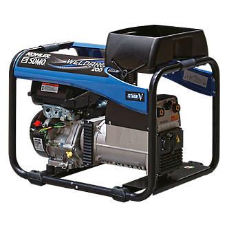 Image of SDMO 200E 4000W 200A DC Portable Generator & Welding Set 110/230V