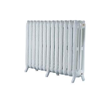Image of Arroll 3-Column Cast Iron Radiator 760 x 1074mm White