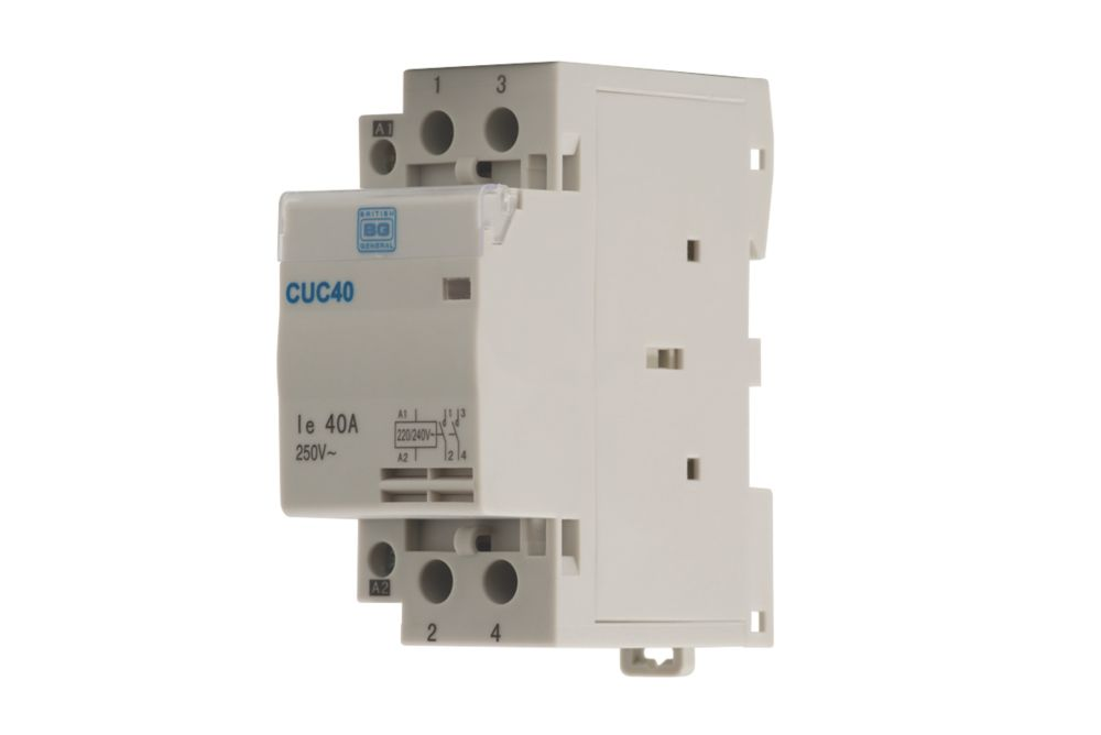 Image of British General 40A Double Pole Contactor