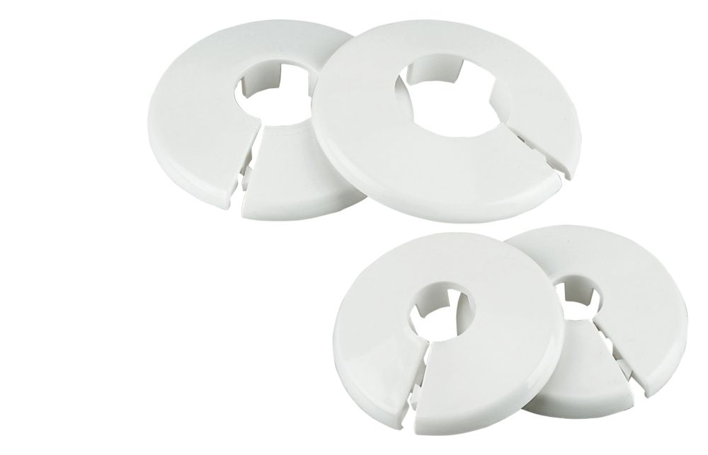 Image of Talon 10mm Pipe Collar White 10 Pack