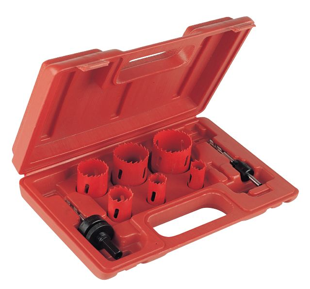 Image of Electricians Holesaw Set 8 Pieces