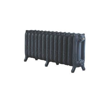 Image of Arroll 3-Column Cast Iron Radiator 470 x 1074mm Black