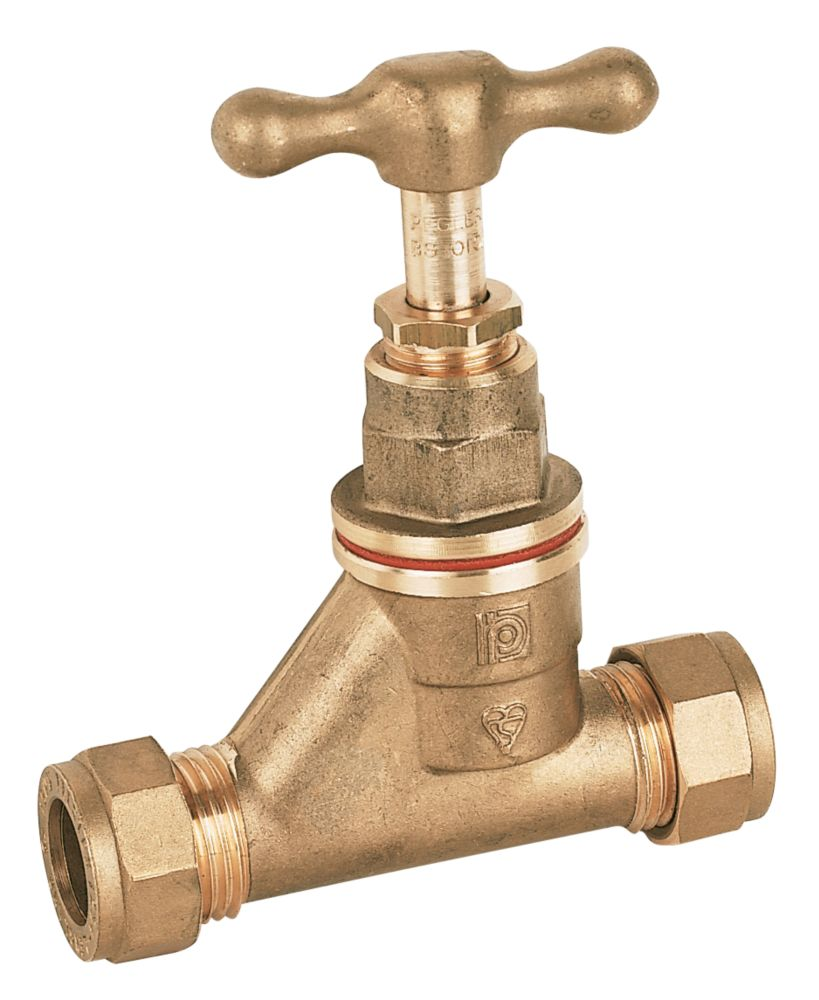 Image of Pegler Stop Cock 22mm