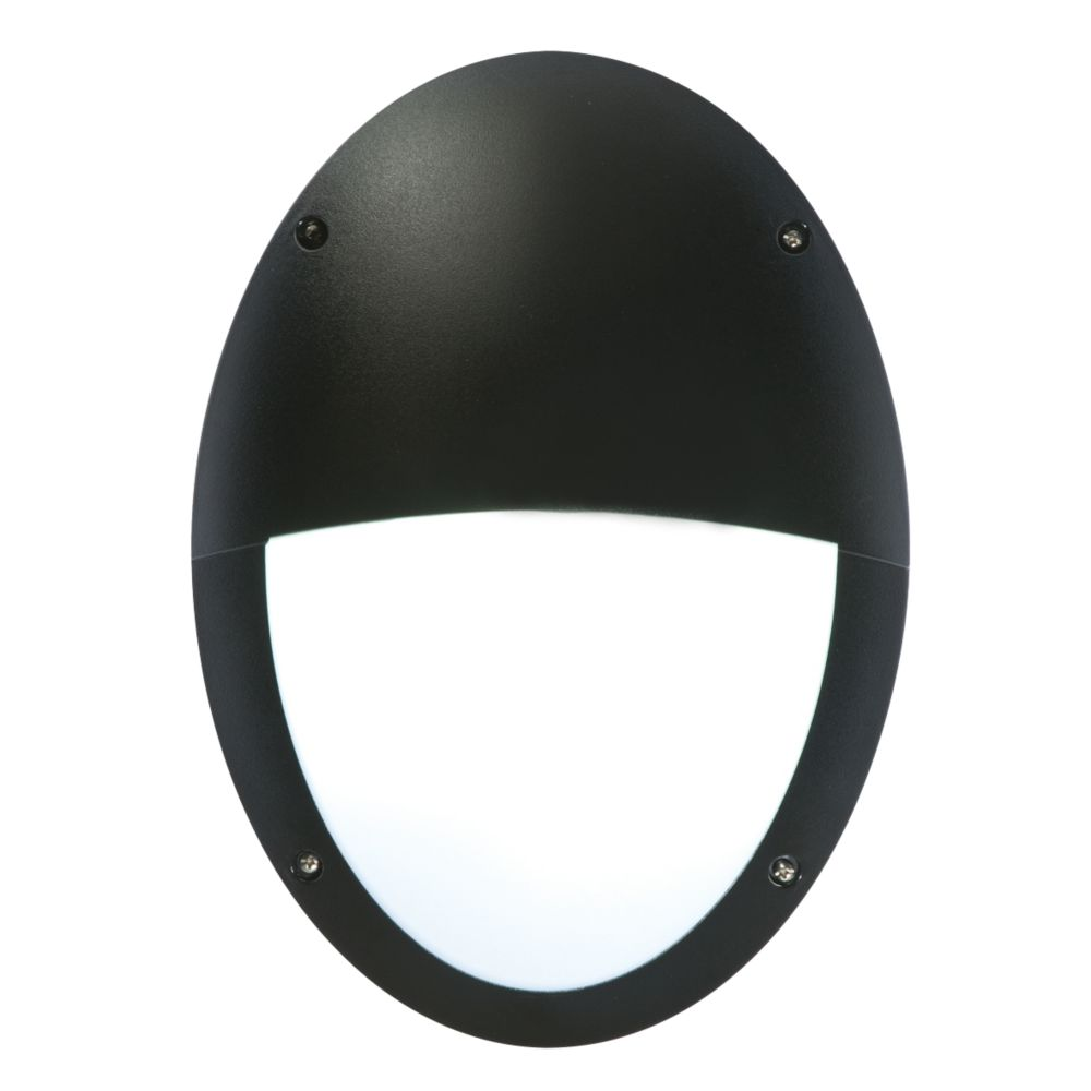 Image of 50217 Oval Eyelid Bulkhead Black / White 23W