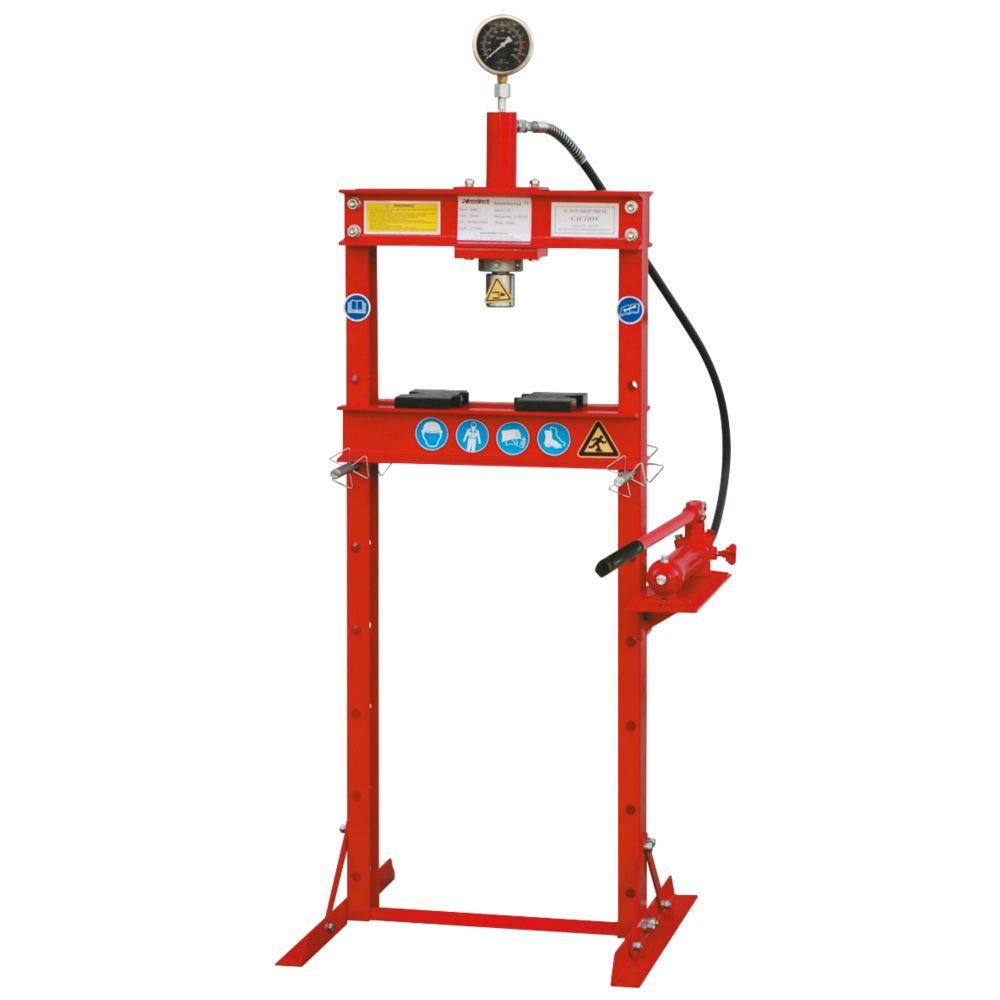 Image of Hilka Pro-Craft 12-Tonne Floor Shop Press x 4ga