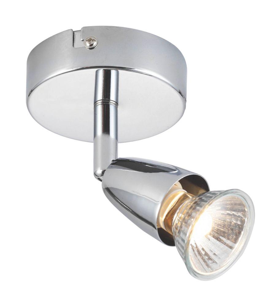 Image of Saxby Amalfi Single Spotlight Chrome 240V